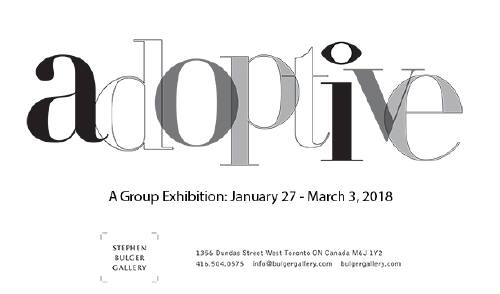 Stephen Bulger Gallery - Adoptive Exhibit